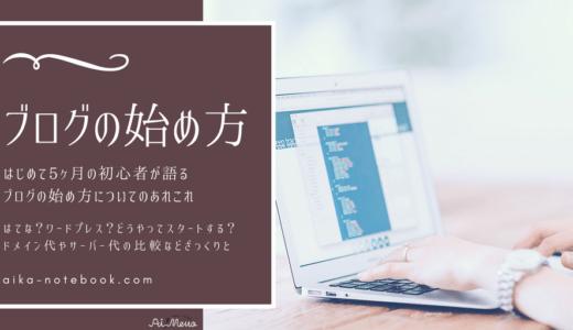ブログの始め方|サーバー・ドメイン・テーマについて|はてなブログかWPどっちがいいか
