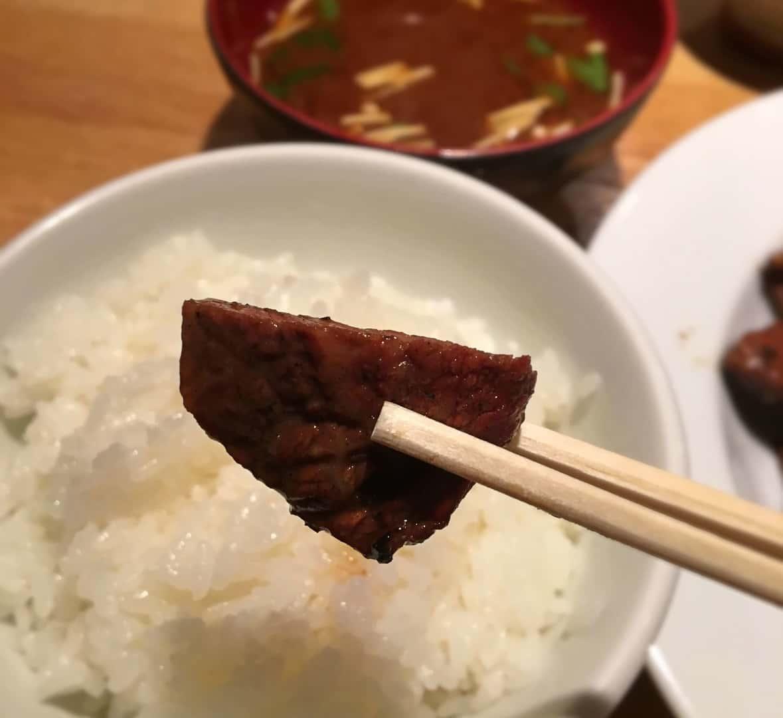 【栄】まつざかの炭火焼きランチ|がっつりお肉なのに安い!|1000円以下