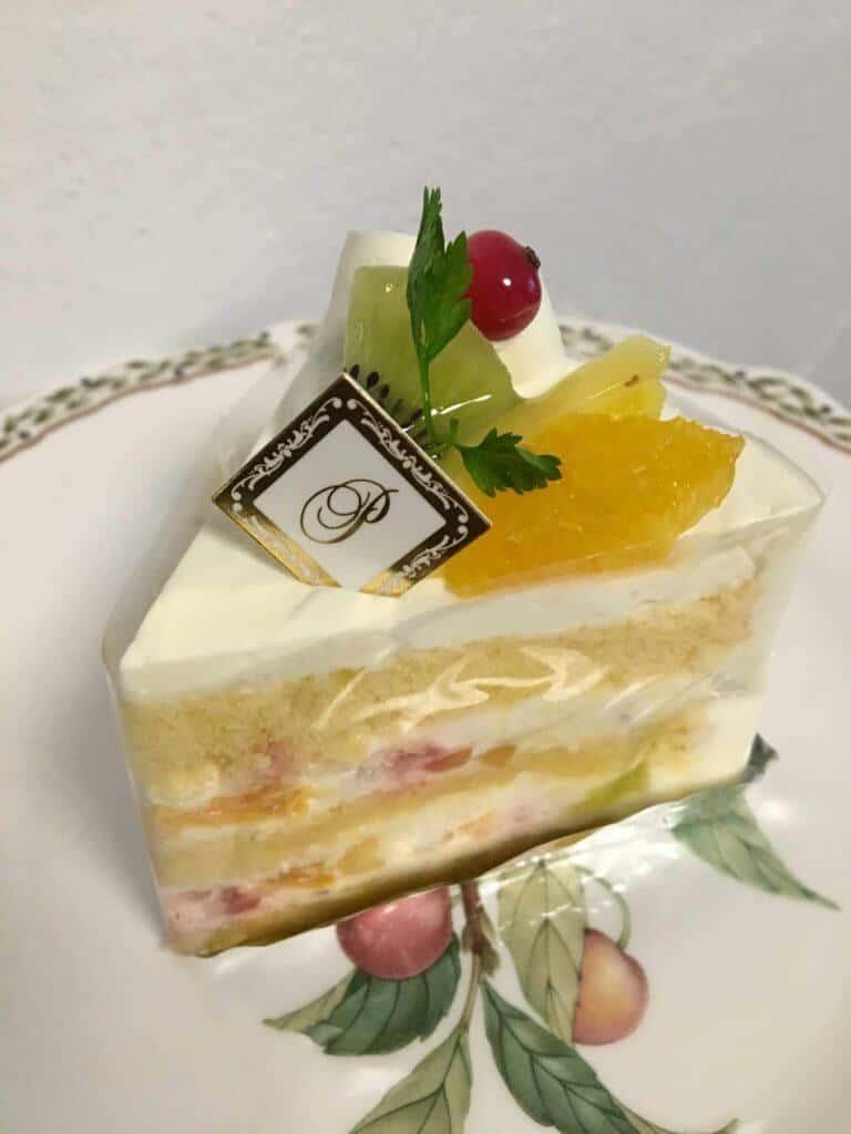 フルーツのショートケーキ