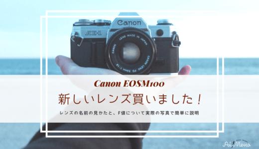 EFM22mmレビュー明るい単焦点レンズ|綺麗にボケる!F値をわかりやすく説明
