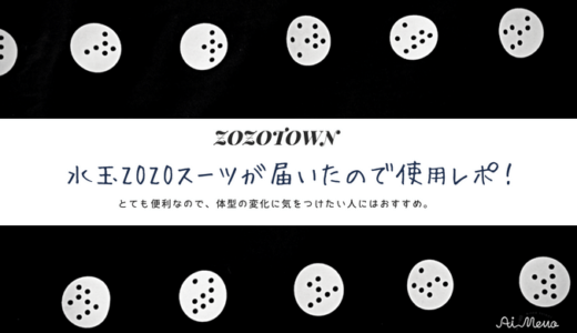 ZOZOスーツ使用レポ!全身を一人で測れて便利|3Dデータ生成や平均値との比較も簡単