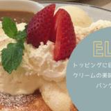 ふわふわパンケーキELK|クリームとソースが美味しいお店|矢場町・栄