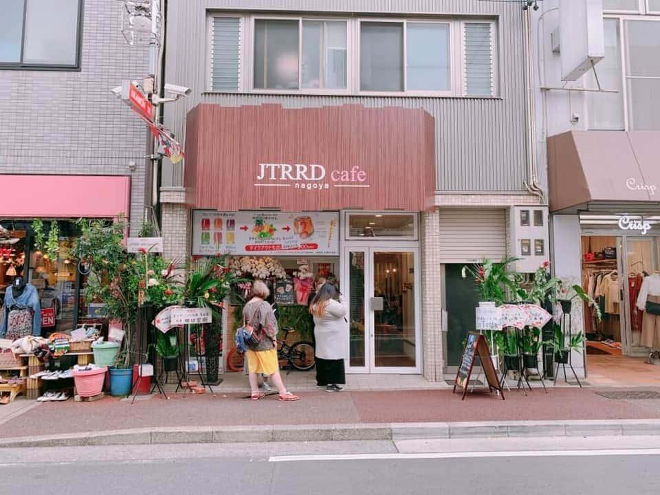 JTRRD cafe nagoyaの外観